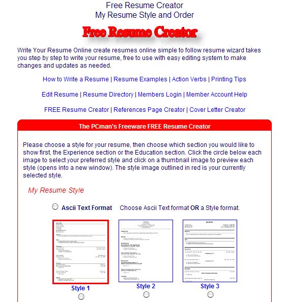 Looking For Free Resumes Sites - Job Site Docx Download