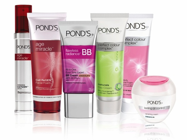 Those ponds facial products are not