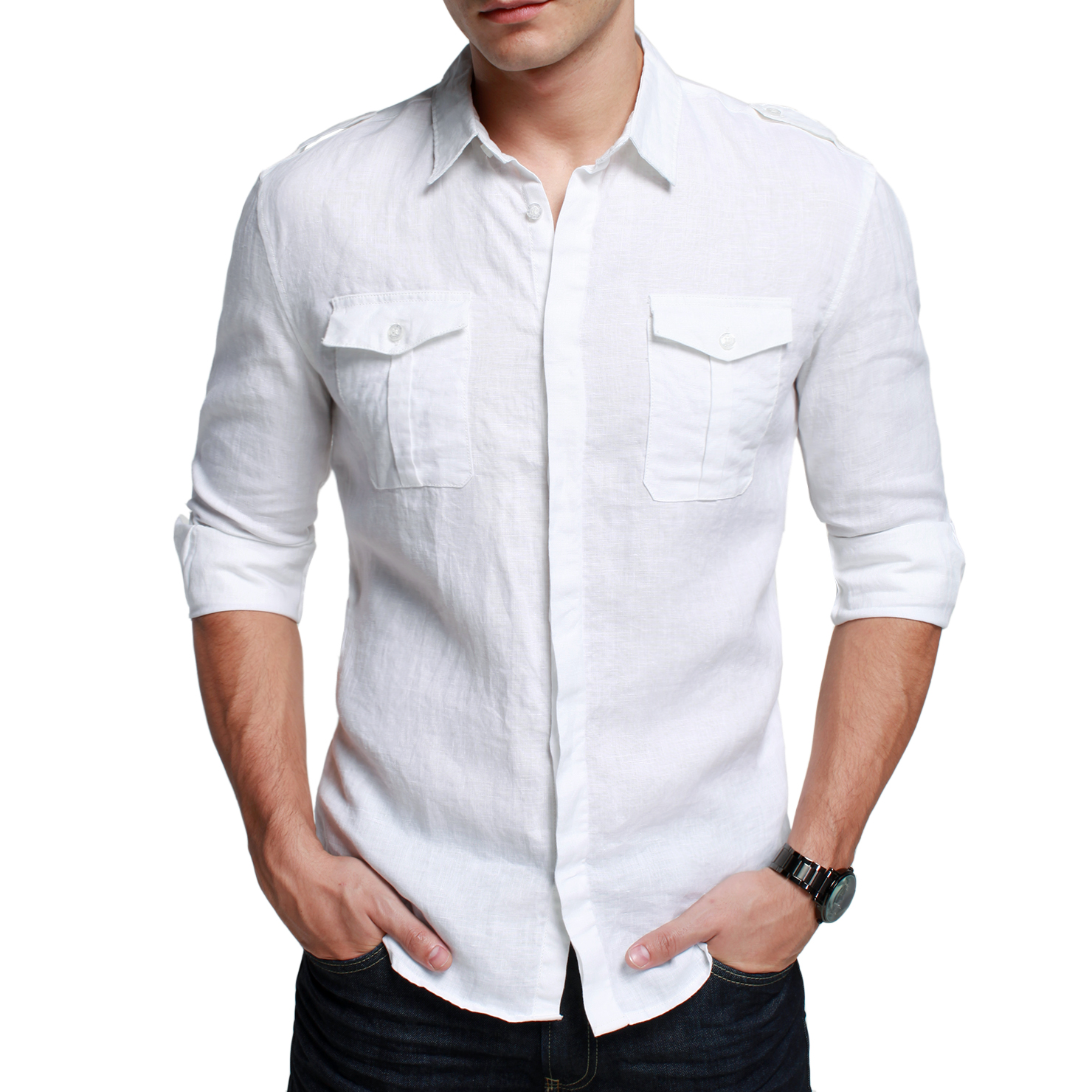 White men shirt is shirt for Mens long sleeve white t shirt
