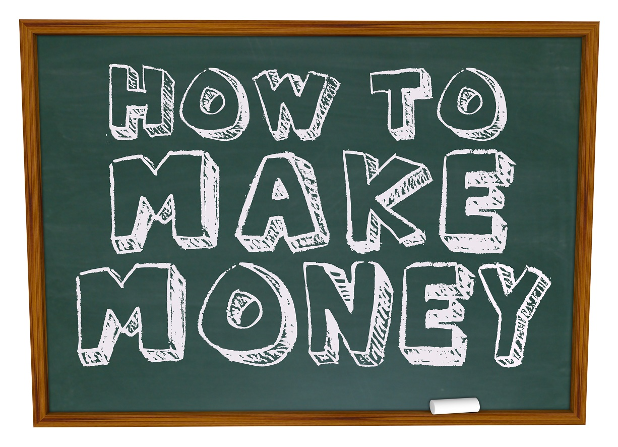 How to make a lot of money online for free