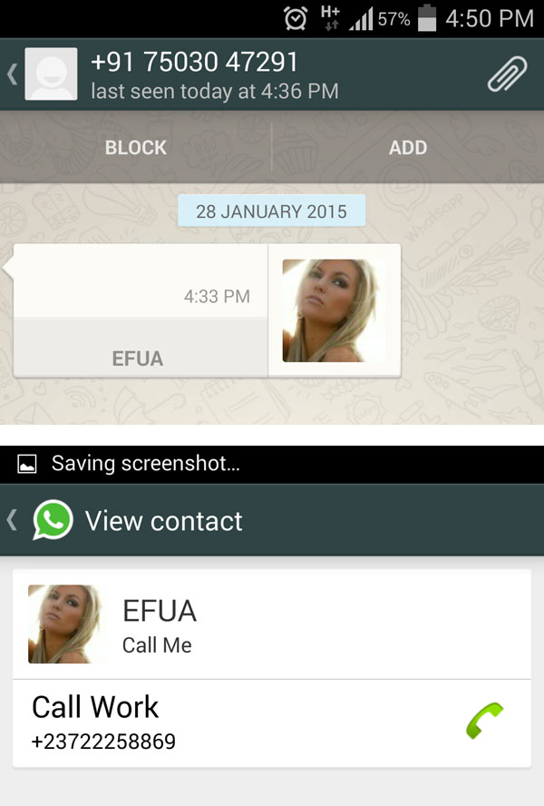 Whatsapp dating nummer south africa