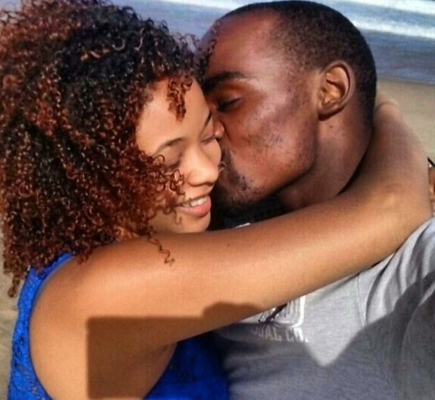 5 Beautiful Pics of Musa Mthombeni With His Girlfriend - Youth Village
