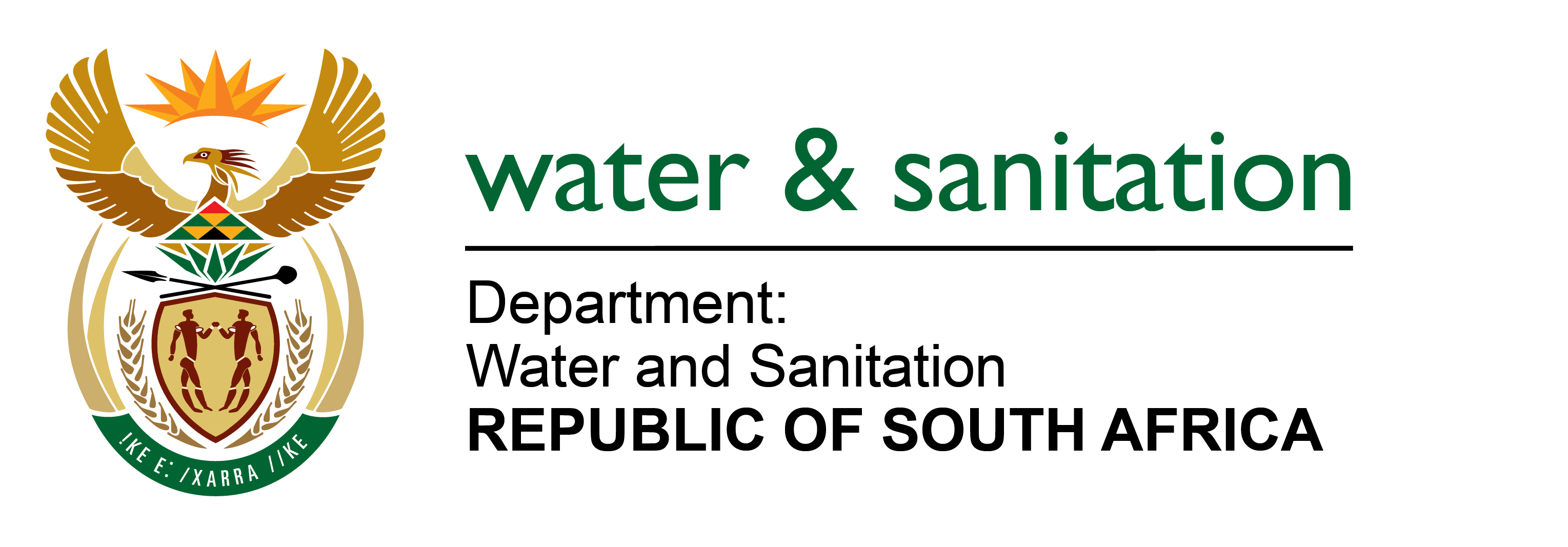 Image result for department of water and sanitation logo