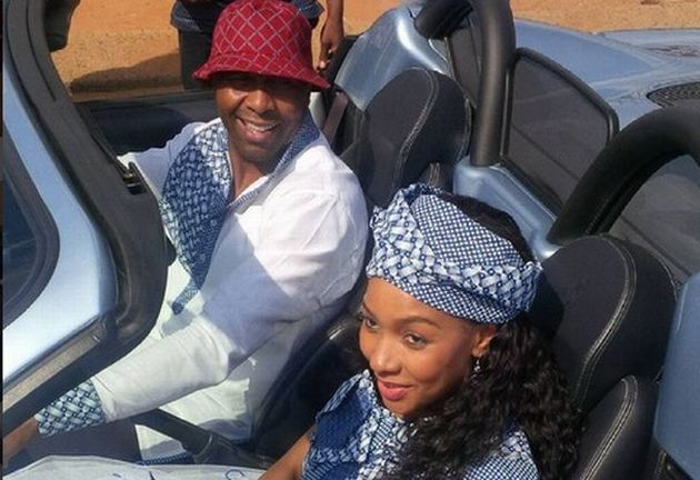 PICS: Inside Lucas Radebe's Lavish Wedding – Youth Village