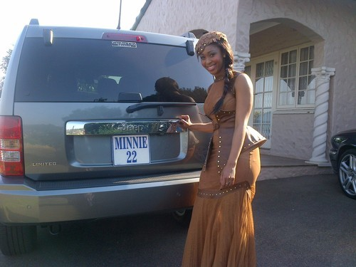 Minnie Dlamini And Her Car Collection Youth Village