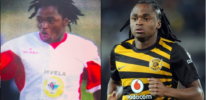South African Soccer Players When They Were Young