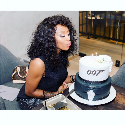 Dj Zinhle Celebrates Her 33rd Birthday In Style