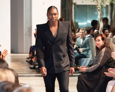 Caster Semenya Walks The Runway At The Dressed To Give