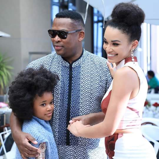 Pearl Thusi, Robert And Thandolwethu Certainly Make A Cute
