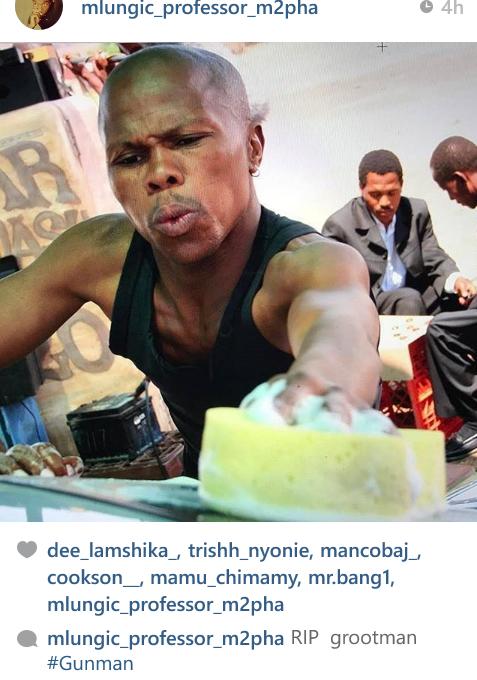 sa celebrities pay tribute to yizo yizo star jabu christopher kubheka
