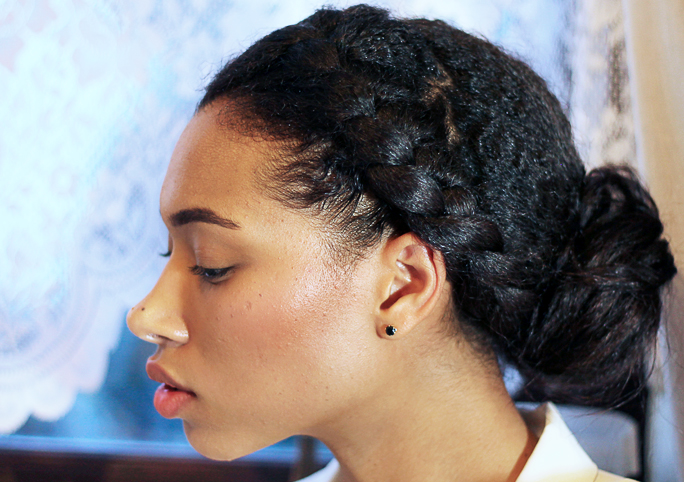 Try These 5 Natural Hairstyles This Festive Youth Village