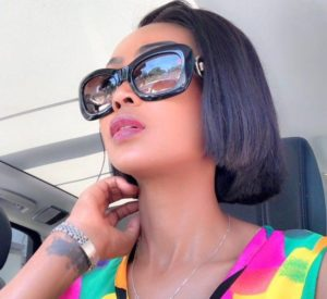 Babalwa hair e1547731585365 300x275 - Pics: Babalwa Mneno Slays With A New Short Hairdo