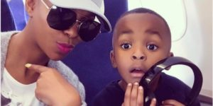 Nhlanhla Nciza 300x150 - Nhlanhla Nciza Gushes Over Her Bundle Of Joy Starting Grade 1