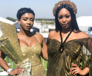boity and minnie e1548679772660 300x250 - Pics: Check Out What your Favorite Celebs Wore At The Sun Met 2019