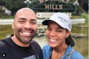 connie and shona 300x198 - Couple Goals: Shona Ferguson Gushes Over His Wife Connie