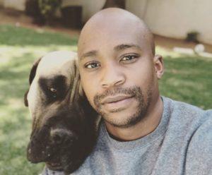 Anga Dog e1551272218552 300x248 - Pics: Anga Makubalo's Love For His Dogs Is Quite Impressive