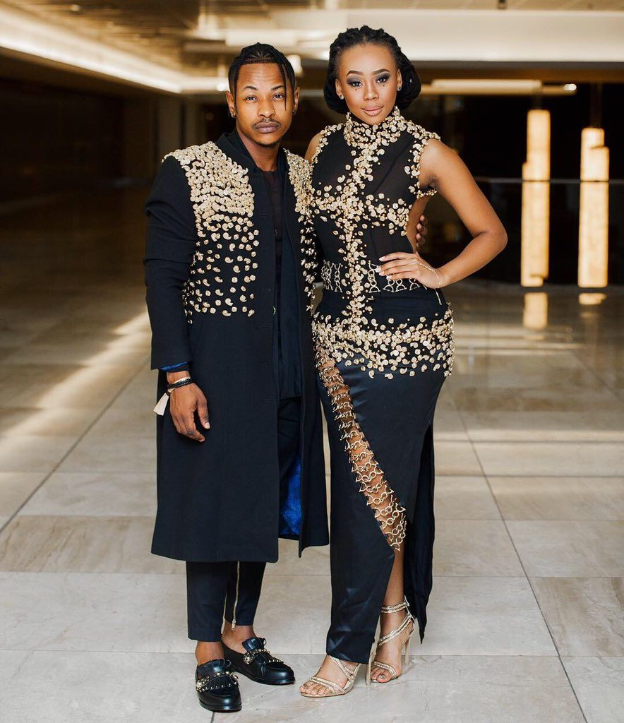 Bontle Priddy 1 884x1024 - Inspirational: SA Celeb Couples In Long Term Relationships
