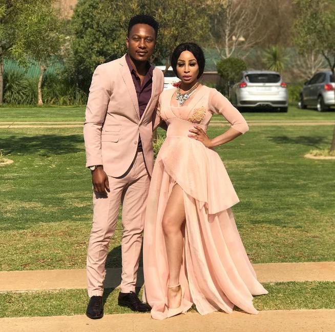 Khanyi Tebogo - Inspirational: SA Celeb Couples In Long Term Relationships