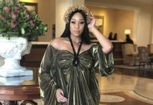 "Minnie preg rumours e1549398925976 300x205 - ""Let's Think Before We Tweet,"" Minnie Dlamini On Pregnancy Speculations"