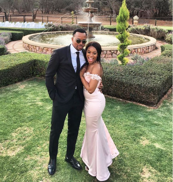 Nomzamo Mbatha and Maps - Inspirational: SA Celeb Couples In Long Term Relationships