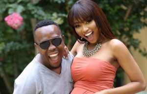 Ntando and Khaya 300x192 - Pics: First Official Portraits Of The Kunenes With Their Newborn