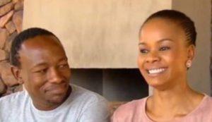 Tsholo and Chris e1549903222665 300x173 - Tsholo Matshaba Remebers Her Husband Chris A Year After His Passing