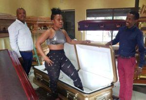 ZODWA Coffin e1549387234853 300x206 - Shocking: Zodwa Buys Herself A 150k Coffin