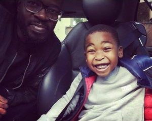 coffee and Anesu 300x238 - Black Coffee Sends His 8 Year Old Son A Sweet Birthday Shout Out