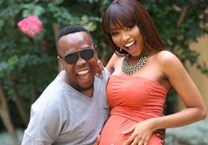 ntando Khaya 300x210 - Pics: Ntando And Khaya Mthethwa Welcome Their First Child