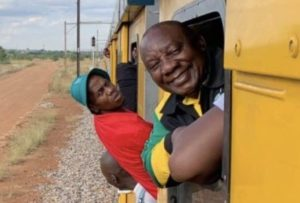 Cyril e1552913373783 300x203 - With Hilarious Memes, Twitter Has A Field Day As President Cyril Ramaphosa Gets Stuck In A Train