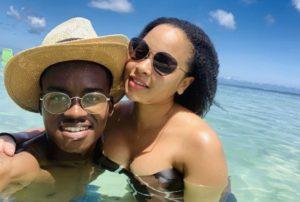 Hungani Steph e1551790757993 300x202 - Pics: Inside Hungani And Stephanie's Mauritius Baecation