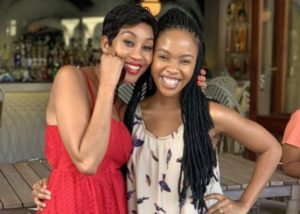 Kgomotso and Mapaseka e1551951584316 300x214 - Kgomotso Christopher Congratulates Her Friend And Colleague Mapaseka Koetle On Her Big Achievement