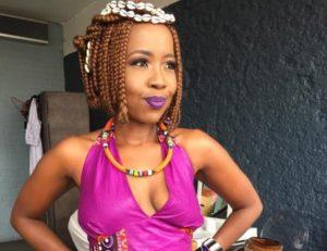 ntsiki moja 1 e1553766322737 300x231 - Ntsiki Mazwai Comes After Nomzamo Mbatha Again
