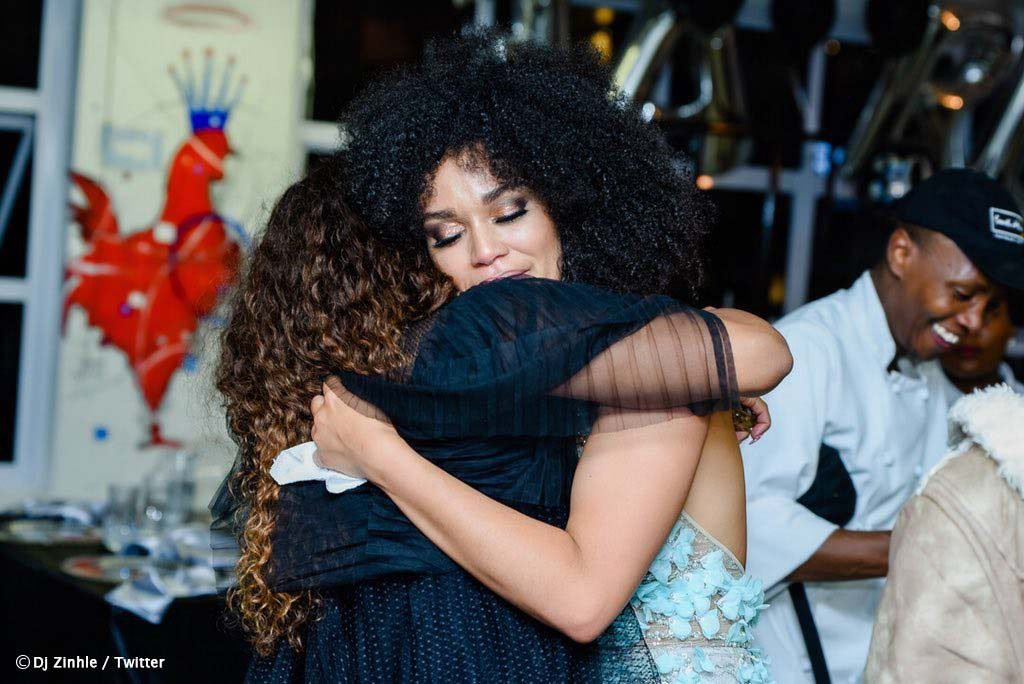 pearl thusi dj zinhle 1024x684 - 10 Celeb Friendships That Stood The Test Of Time
