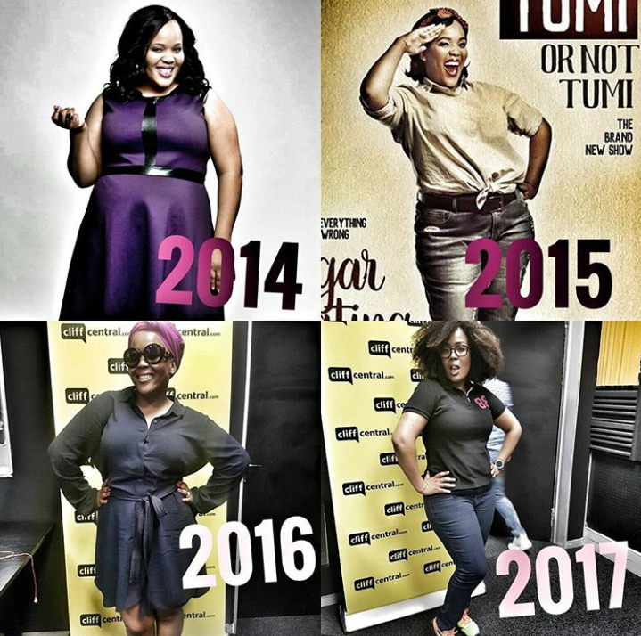 Queen Of Comedy, Tumi Morake Shows Off Her Body Goal