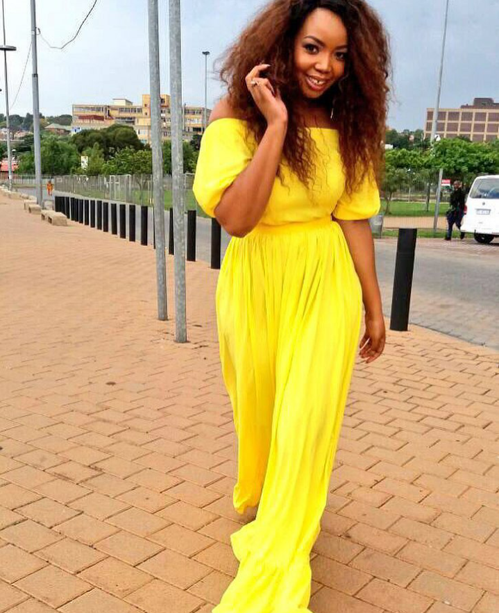 The Queen Of Frocks Thembisa Mdoda S Fashion Sense Is On